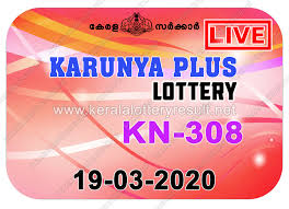 Kerala Lottery Results: 19-03-2020 Karunya Plus KN-308 Lottery Result