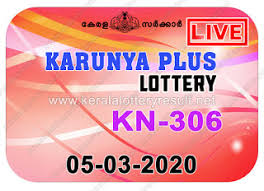 Kerala Lottery Results: 05-03-2020 Karunya Plus KN-306 Lottery Result